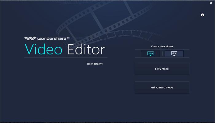برنامج wonder share video editor